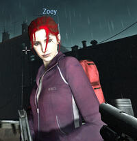 PurpleNredhead gothic Zoey