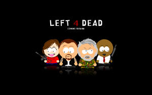 South Park на черном фоне
