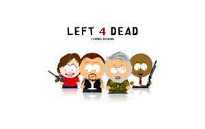 South Park на белом фоне