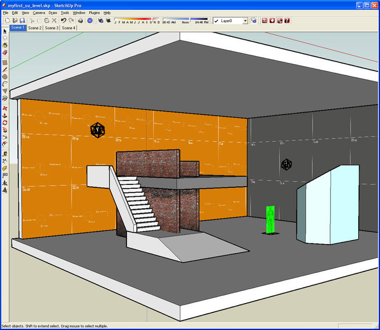 Sketchup free solid tools plugin container writersbertyl for Sketchup import